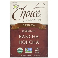 Choice organic teas organic ban-cha toasted green tea - 16 ea, 6 pack