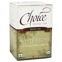 Choice Organic Teas Delicious White Peony Tea - 16 bags, 6 pack