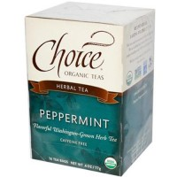 Choice Organic Teas Organic Peppermint Herb Tea - 16 ea, 6 pack