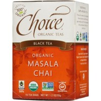 Choice Organic Masala Chai Tea - 16 ea, 6 pack