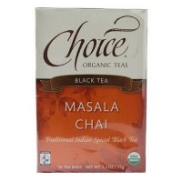 Choice organic teas black tea masala chai  16 ea ,6 pack