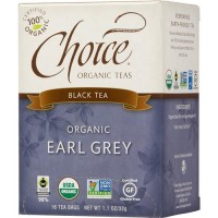 Choice Organic Teas Earl Grey Tea Organic - 16 ea, 6 pack