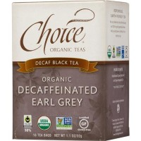 Choice organic decaf earl grey - 16 ea, 6 pack