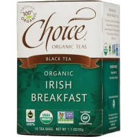Choice Organic Teas Irish Breakfast Tea - 16 ea, 6 pack