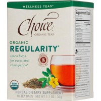 Choice organic teas regularity senna blend - 16 tea bags