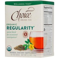 Choice Organic Teas Regularity Senna Blend Tea - 16 Bags, 6 Pack