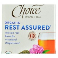 Choice organic teas rest assured valerian root blend - 16 tea bags