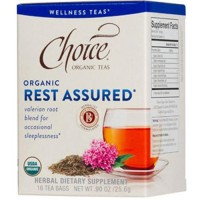 Choice Organic Teas Valerian Root Tea, Rest Assured - 16 Bags, 6 Pack