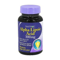 Natrol alpha lipoic acid 300 mg capsules for age related damage, 50 ea