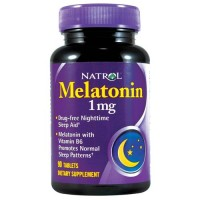 Natrol melatonin 1mg  - 90 ea