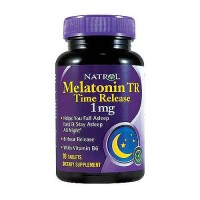 Natrol Melatonin time release 1 mg tablets with vitamin B6 - 90 ea