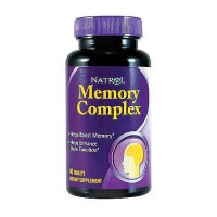 Natrol memory complex tablets helps to boost memory - 60 ea