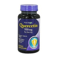 Natrol Quercetin 500 Mg Capsules Supports Immune System - 50 ea