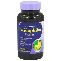 Natrol Acidophilus 100mg support for digestive functions - 100 ea