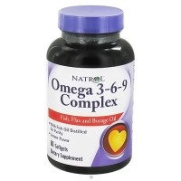 Natrol omega 3-6-9 complex softgels of lemon flavor - 60 ea