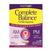 Natrol complete balance menopause AM and PM capsules - 60 ea