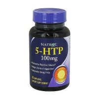 Natrol 5-HTP 100mg double strength capsules, 30 ea