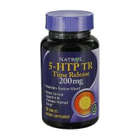 Natrol 5-HTP time release 200 mg tablets promotes positive mood, 30 ea