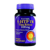 Natrol 5-HTP time release 100 mg tablets promotes positive mood, 45 ea