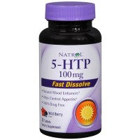 Natrol 5 htp 100mg fast dissolve tablets berry - 30 ea