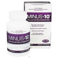 Natrol Minus 10 Cellular Rejuvenation Antioxidant Tablets - 120 ea