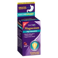 Natrol High Absorption Magnesium, natural cranberry apple flavor chewable tablets - 60 ea
