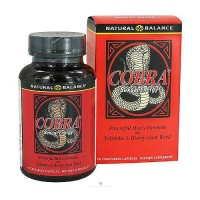 Natural Balance Cobra Powerful Mens Formula Vcaps - 60 ea