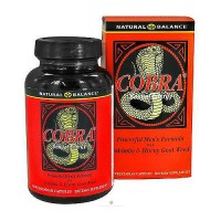 Natural Balance Cobra Sexual Energy Capsules, Men - 120 ea