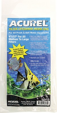 Loving Pet Corp - Pet filter lifeguard media bag - 4x12 in, 144 ea
