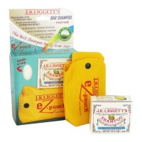 Jr liggetts ez-pouch travel case and ultra balanced shampoo bar - 1 ea