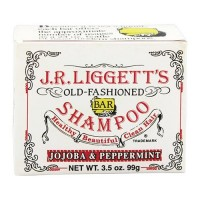 J.R.liggetts old fashioned bar shampoo, jojoba and peppermint - 3.5 oz