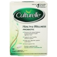 Culturelle, Health and Wellness Probiotic - 30 veg capsules