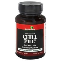 Futurebiotics chill pill cool and calm herbal supplement tablets, 60 ea
