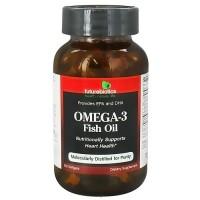 Futurebiotics omega-3 fish oil softgels support heart health, 100 ea