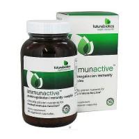 FutureBiotics immunactive, arabinogalactan immunity complex capsules, 60 ea
