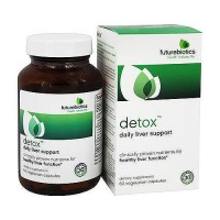 Futurebiotics detox vegetarian capsules for healthy liver function, 60 ea
