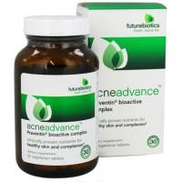 Futurebiotics acneadvance praventin bioactive complex vegetarian tablets, 90 ea