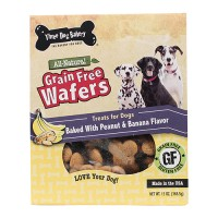 Three Dog Bakery grain free wafers - 13 ounce, 6 ea