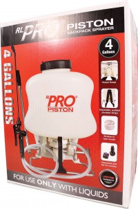 Rl Flo-Master r l pro piston backpack sprayer - 4 gallon, 1 ea