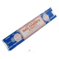 Satya Sai Baba Nag Champa Agarbatti Incense - 15 Grams, 12 pack