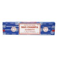 Satya Sai Baba Nag Champa Agarbatti Incense - 40 Grams, 12 pack