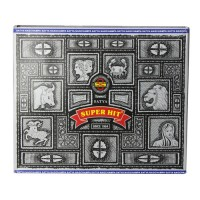 Satya Sai Baba Nag Champa Super Hit Incense - 100 grams, 6 pack