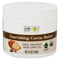 Aura Cacia pure natural cocoa butter moisurizing care for skin - 4 oz