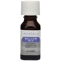 Aura Cacia Aromatherapy essential solutions oil, Mellow Mix - 0.5 oz