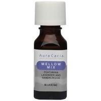 Aura Cacia Aromatherapy essential solutions oil, Mellow Mix - 0.5 oz