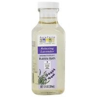 Aura Cacia Aromatherapy Bubble Bath, Relaxing Lavender - 13 oz