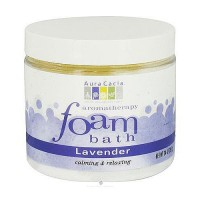 Aura Cacia Aromatherapy foam bath, lavender - 14 oz