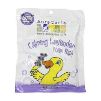 Aura Cacia calming Aromatherapy foam bath for kids - 2.5 oz, 6 pack