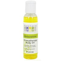 Aura Cacia Aromatherapy bath and massage relaxing citrus oil, 4 oz
