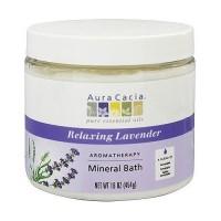 Aura Cacia lavender harvest aromatherapy mineral bath, 16 oz